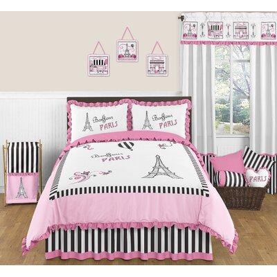Paris 3 Piece Full/Queen Bedding Set by Sweet Jojo Designs