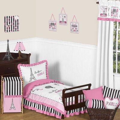 Paris 5 Piece Toddler Bedding Set by Sweet Jojo Designs