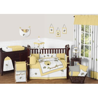 Honey Bee 9 Piece Crib Bedding Set by Sweet Jojo Designs