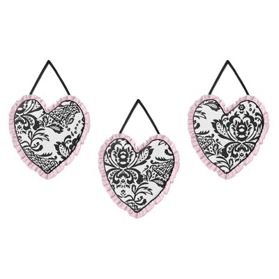 3 Piece Sophia Wall Hanging Set by Sweet Jojo Designs