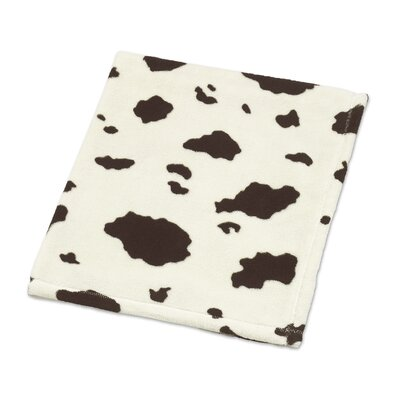 Cowgirl Cow Plush Baby Blanket by Sweet Jojo Designs