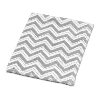 Zig Zag Plush Baby Blanket by Sweet Jojo Designs