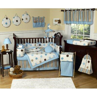 Sweet Jojo Designs Mod Dots 9 Piece Crib Bedding Set