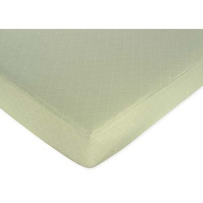 Argyle Green Fitted Crib Sheet by Sweet Jojo Designs