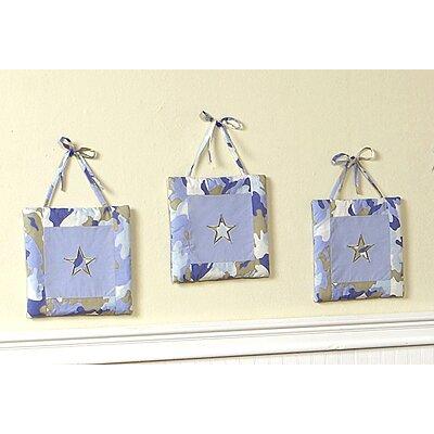 Camo Hanging Art (Set of 3) by Sweet Jojo Designs