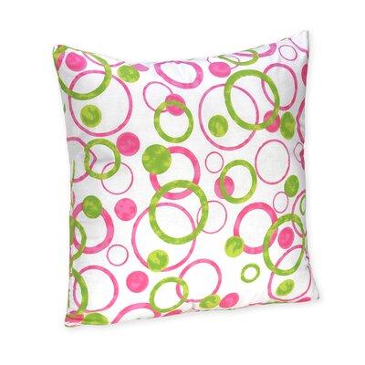 Circles Cotton Throw Pillow by Sweet Jojo Designs