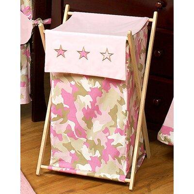 Camo Pink Laundry Hamper by Sweet Jojo Designs