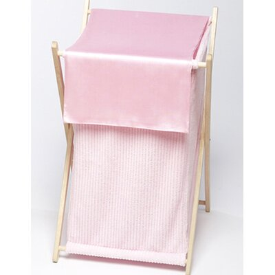 Chenille Pink Laundry Hamper by Sweet Jojo Designs