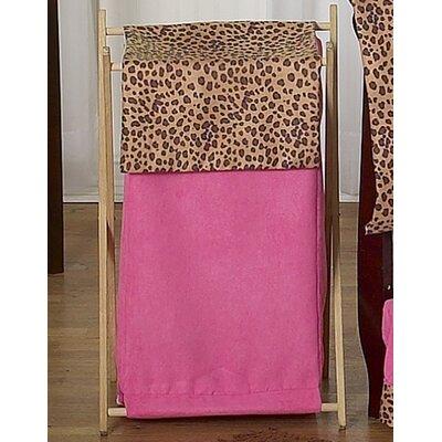 Cheetah Pink Laundry Hamper by Sweet Jojo Designs