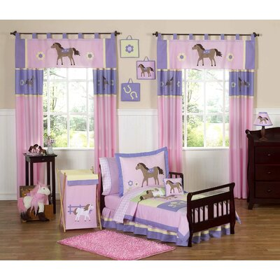 Sweet Jojo Designs Pony Toddler Bedding Collection