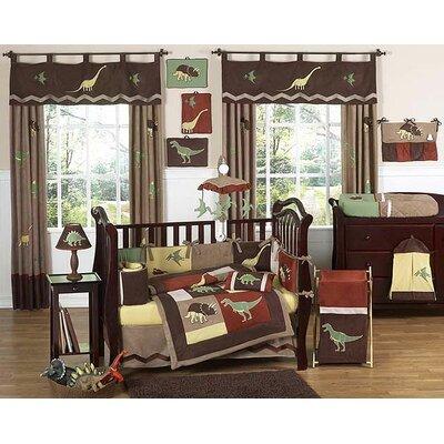 Dinosaur Land 9 Piece Crib Bedding Set by Sweet Jojo Designs