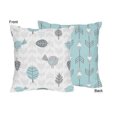 Earth and Sky Throw Pillow by Sweet Jojo Designs
