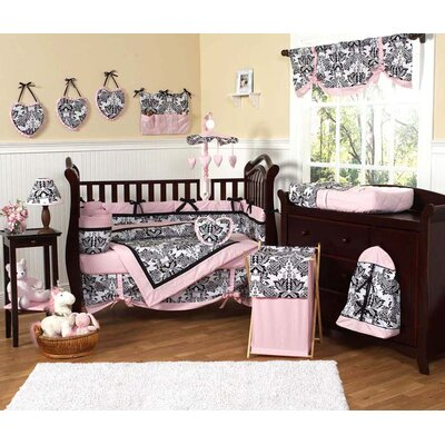 Sweet Jojo Designs Sophia 9 Piece Crib Bedding Set