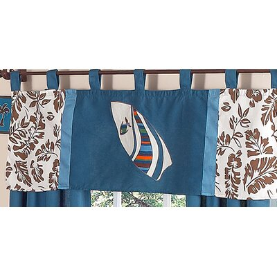 Sweet Jojo Designs Surf Curtain Valance