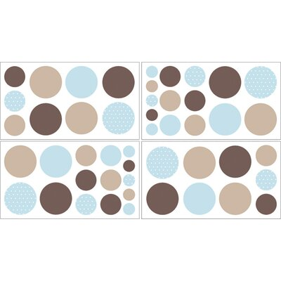 Sweet Jojo Designs Mod Dots Wall Decal