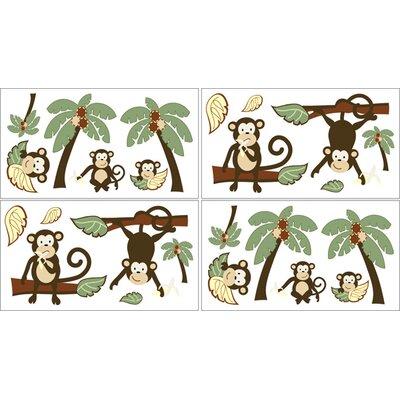 Sweet Jojo Designs Monkey Wall Decal