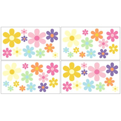 Sweet Jojo Designs Danielle's Daisies Wall Decal