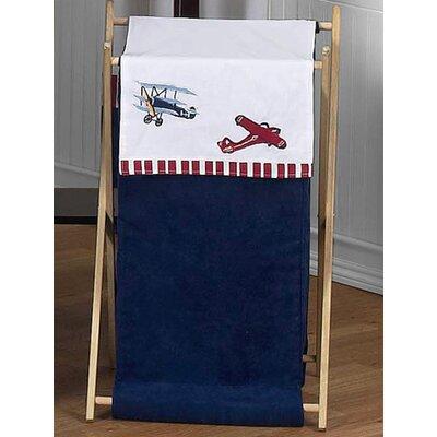 Vintage Aviator Laundry Hamper by Sweet Jojo Designs
