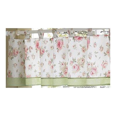 "Sweet Jojo Designs Riley's Roses 84"" Curtain Valance"