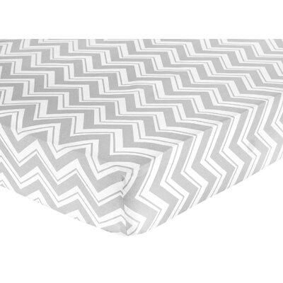Zig Zag Fitted Crib Sheet by Sweet Jojo Designs