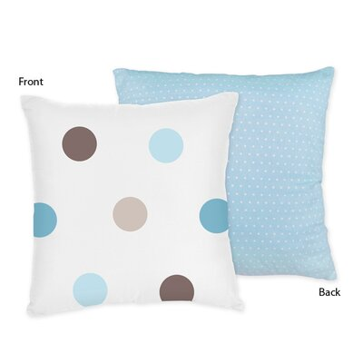 Mod Dots Cotton Throw Pillow by Sweet Jojo Designs