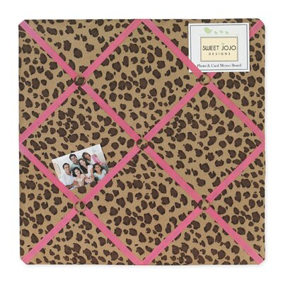 Cheetah Pink Memo Board by Sweet Jojo Designs