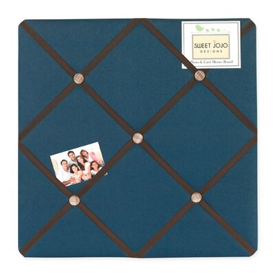 Construction Zone Memo Board by Sweet Jojo Designs