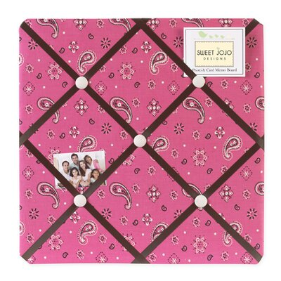 Cowgirl Memo Board by Sweet Jojo Designs