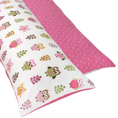 Sweet Jojo Designs Happy Owl Body Pillowcase