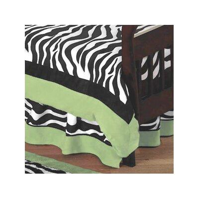 Sweet Jojo Designs Zebra Toddler Bed Skirt