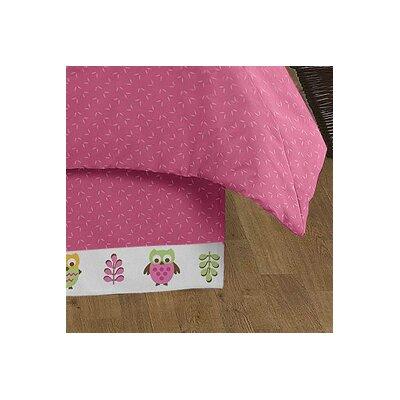Sweet Jojo Designs Happy Owl Queen Bed Skirt