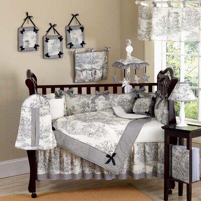 Sweet Jojo Designs Toile 9 Piece Crib Bedding Set
