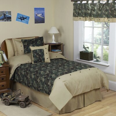 Sweet Jojo Designs Camo Green Kid Bedding Collection