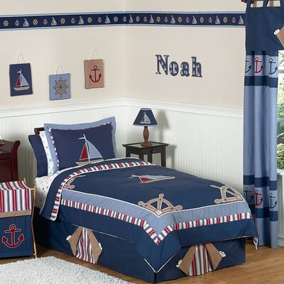 Nautical Nights Kid Bedding Collection by Sweet Jojo Designs