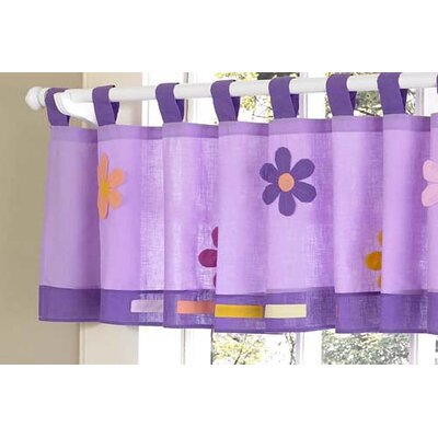 "Danielle's Daisies 84"" Curtain Valance Product Photo"