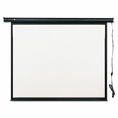 Electric Wall or Ceiling Mount Projection Screen by Quartet