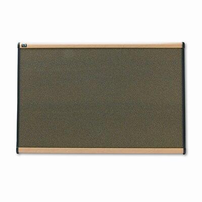 Quartet® Prestige Graphite-Blend Wall Mounted Bulletin Board