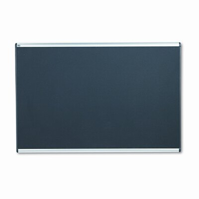 Quartet® Embossed Wall Mounted Bulletin Board, 4' x 6'