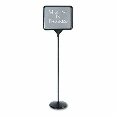 Quartet® Sign(Ware) Pedestal Sign