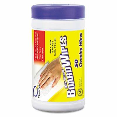 Quartet® Dry Erase Wet Wipes, 50/Tub