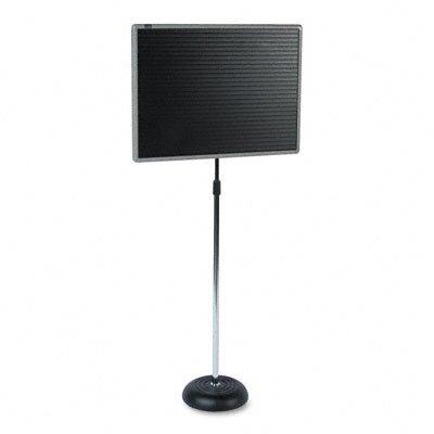 Quartet® Adjustable Magnetic Single Pedestal Letter Board