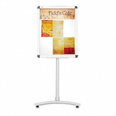 Quartet® Clip-Frame Pedestal Sign