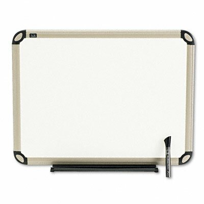 Quartet® Total Dry-Erase Wall Mounted Whiteboard, 1' x 2'