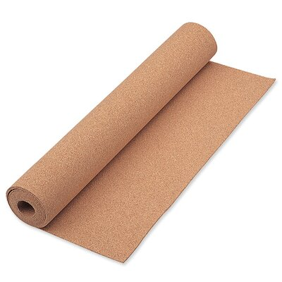 "Quartet® Cork Roll, 1/16"" Thick, 24""x48"", Natural"