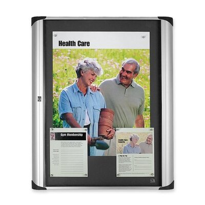 Quartet® Magnetic Wall Mounted Bulletin Board, 2' x 3'