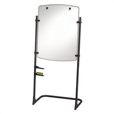 Quartet® Total Erase Presentation Free Standing Whiteboard, 3' x 3'