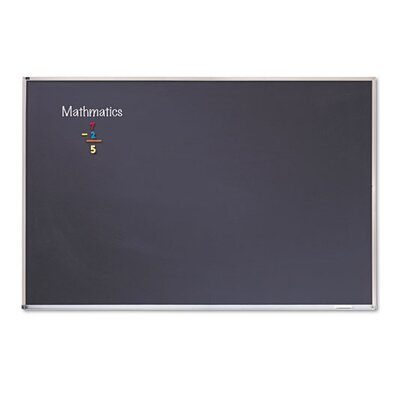 Quartet® Wall Mounted Enclosed Bulletin Board, 4' x 6'