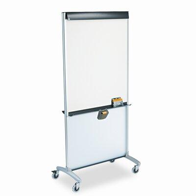 Quartet® Presentation Easel Mobile Whiteboard, 6' x 3'