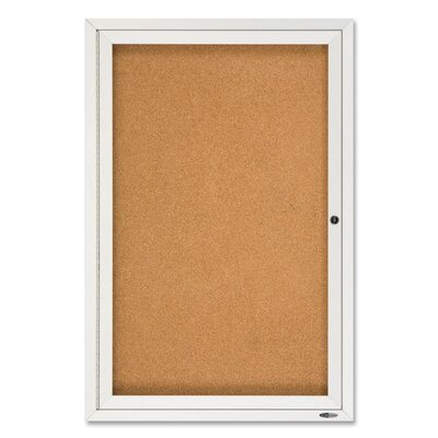 Quartet® Enclosed Outdoor Bulletin Board