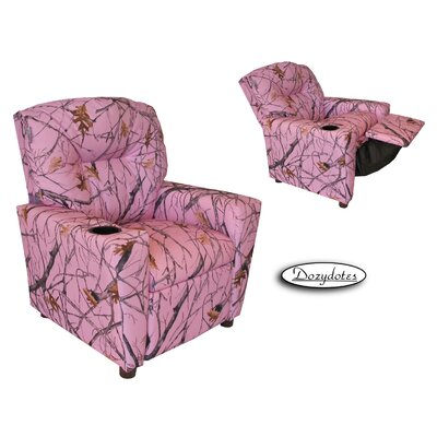Snowfall Kids Cup Holder Recliner by Dozy Dotes